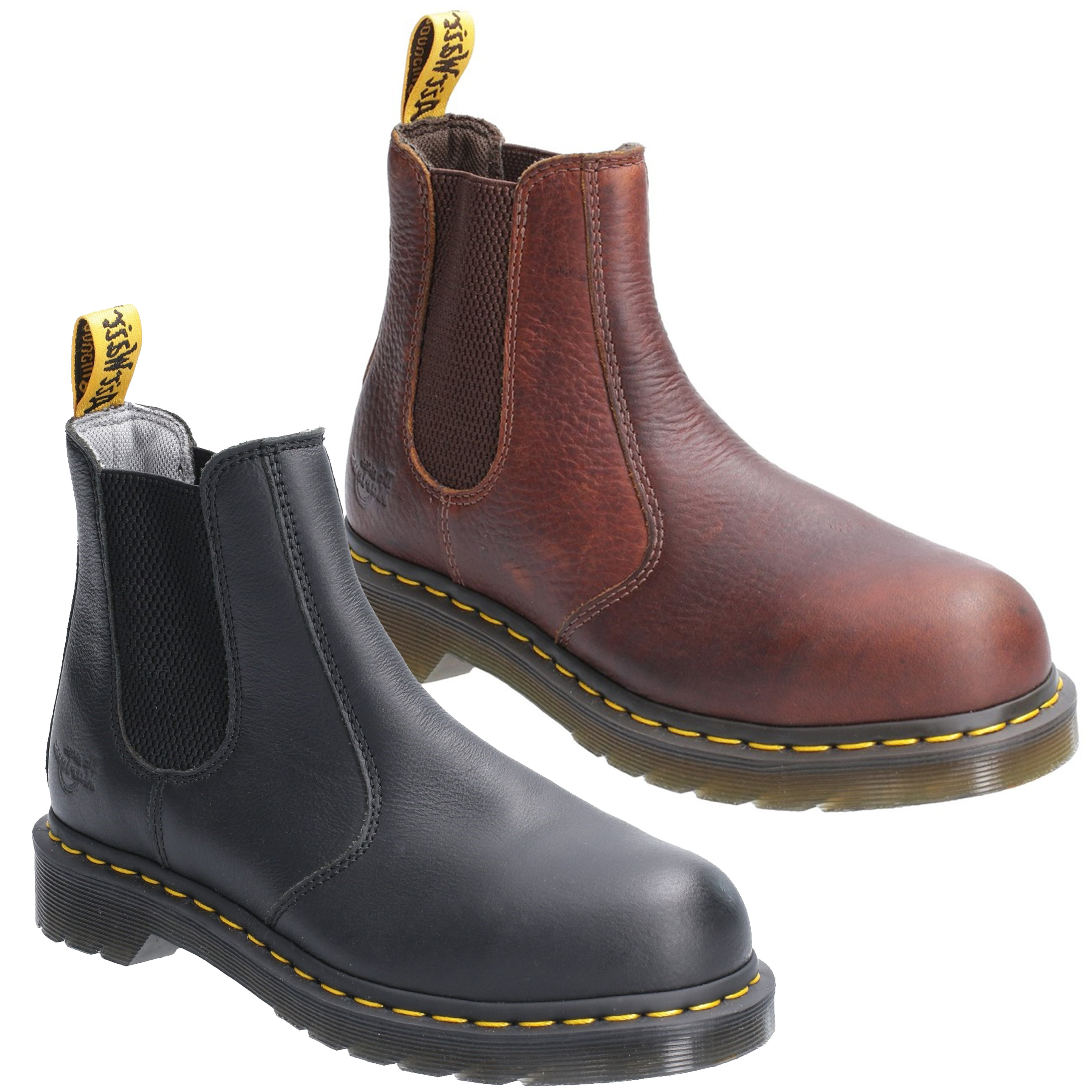 dr martens steel toe boots